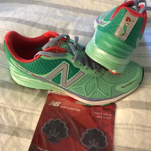 b85bd9c3f7bd New Balance Run Disney Little Mermaid Running Shoe